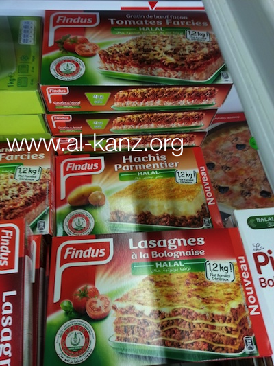 Findus halal