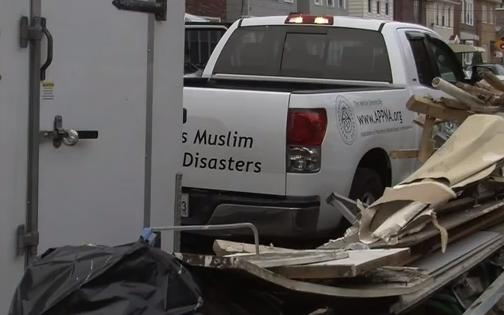 Ouragan Sandy : les musulmans mobilisés