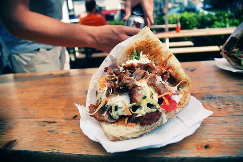 cochon kebab