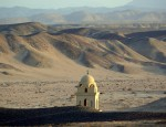mosquee dans le désert égyptien