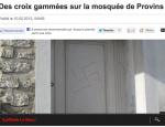 Des croix gammées sur la mosquée de Provins