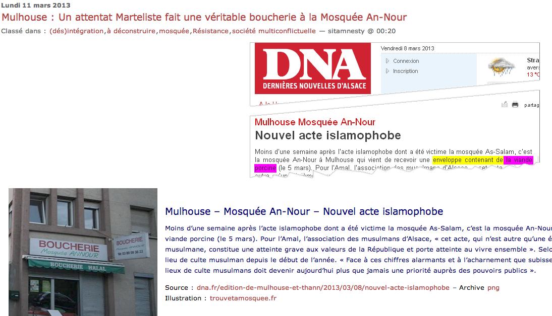 SITA mosquée de Mulhouse