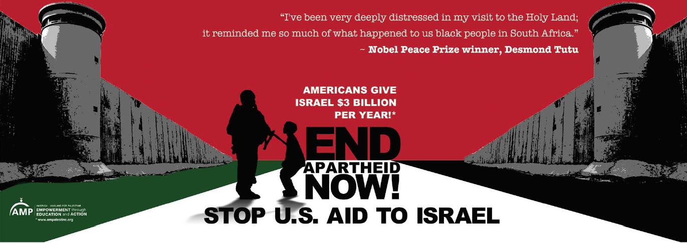 American muslim for Palestine Palestine apartheid