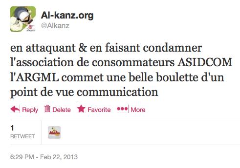 L'ARGML-mosquée de Lyon aurait-elle vraiment dû attaquer ASIDCOM ?