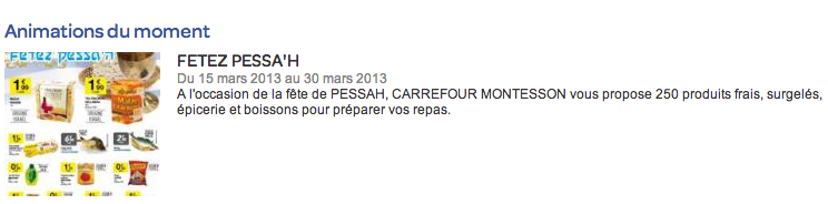Carrefour casher