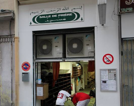 Mosquée rue de Nice
