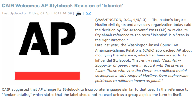 CAIR Associated Press