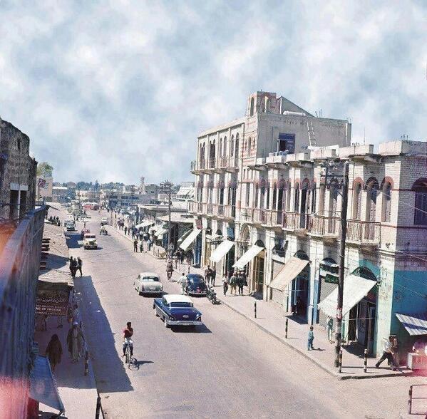 Omar Almokhtar, rue principale, Gaza