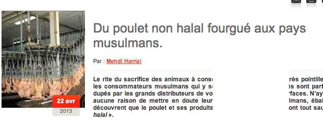 Faux halal : le Maroc mettra-t-il fin au scandale Doux  ?