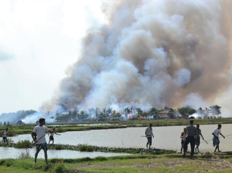 Tout ce que vous pouvez faire, c'est prier': Crimes contre l'humanité et nettoyage ethnique visant les musulmans rohingyas dans l'État birman d'Arakan
