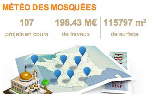 Météo des mosquées - avril 2013