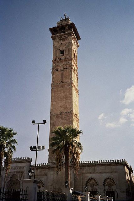 Minaret mosquée Alep