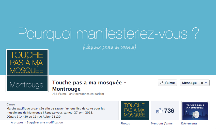 mosquee montrouge facebook