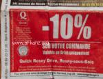 Quick halal Rosny-sous-Bois