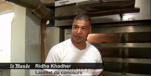 ridha khader lauréat du prix de la meilleure baguette de Paris