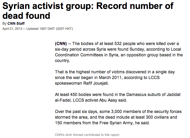 Syrie CNN
