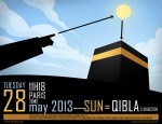 Qibla the 28th May Sun