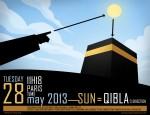 Qibla the 28th May Sun