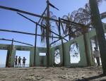 Mosquée détruite en Birmanie - Rohingya