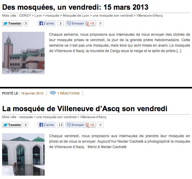 le site Trouvetamosquee.fr attend les photos de votre mosquée