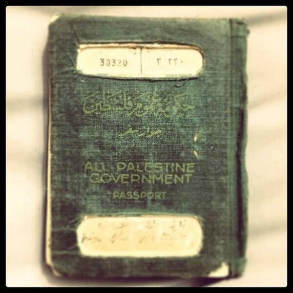 passeport nakba