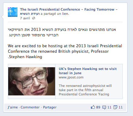stephen-hawking-boycotte-conference-israel