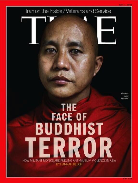 Rohingya : le magazine Time met à la une Wirathu, Hitler de Birmanie