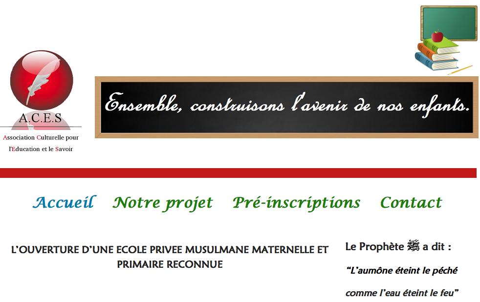 Ecole maternelle et primaire musulmane