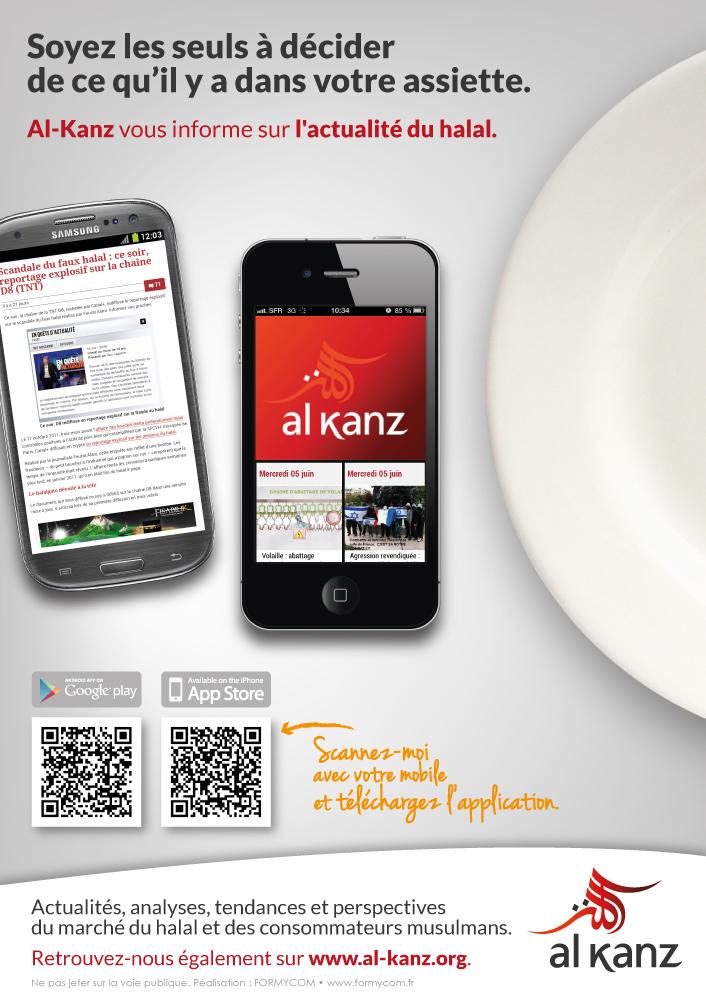 Flyer  Al-Kanz par Formycom