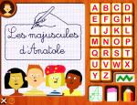 Les majuscules d'Anatole - écrire l'alphabet arabe