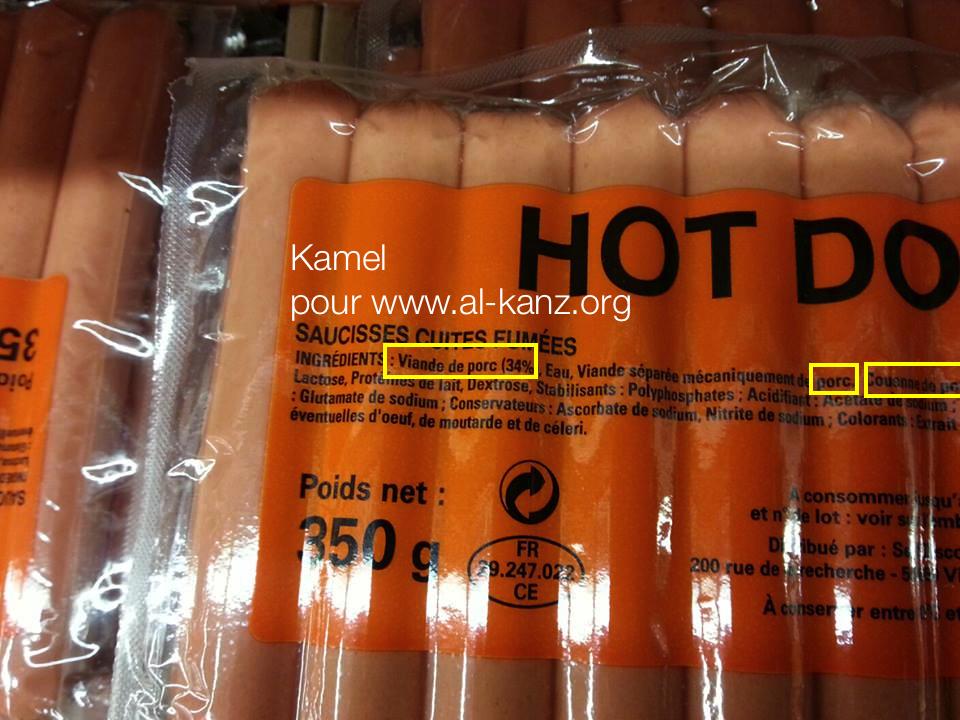 Auchan : du porc dans le rayon halal