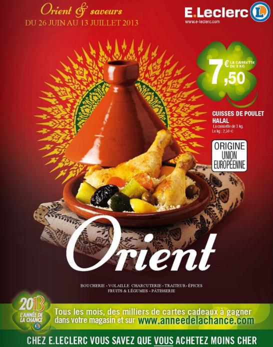 catalogue Leclerc ramadan saveur orient