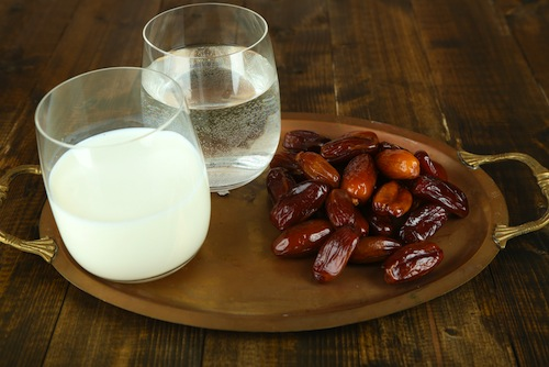 iftar dattes lait