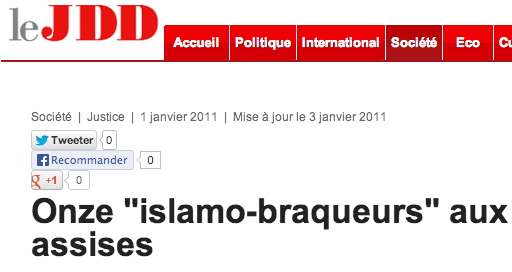 islamo-braqueurs JDD