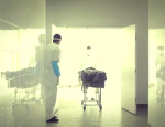 un mort à la morgue