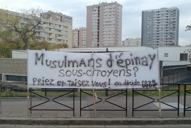 Epinay-sur-Seine : une marche contre l'arbitraire du maire et la fermeture de l'unique mosquée
