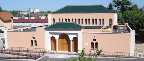 La mosquée d'Ermont (95) taguée