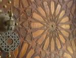 Porte mosquée de Paris