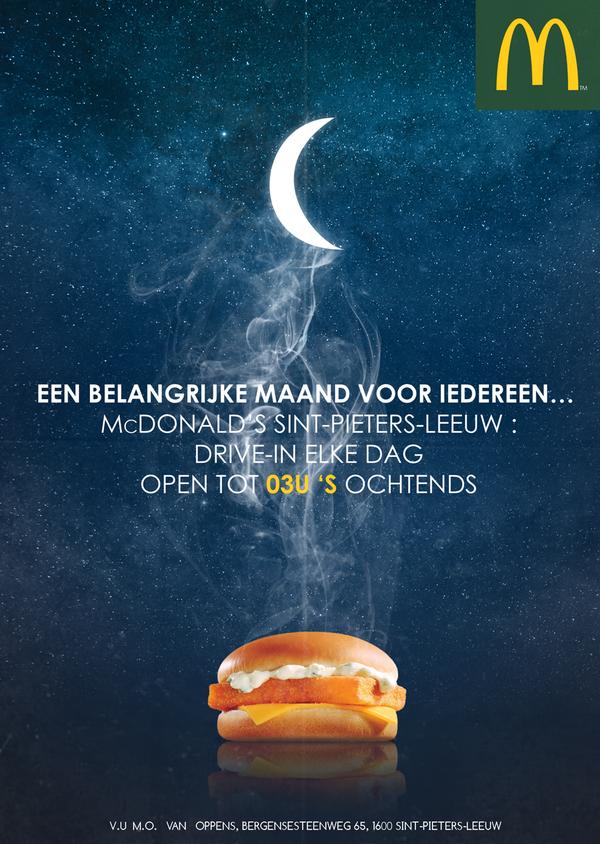 ramadan mcdo Belgique