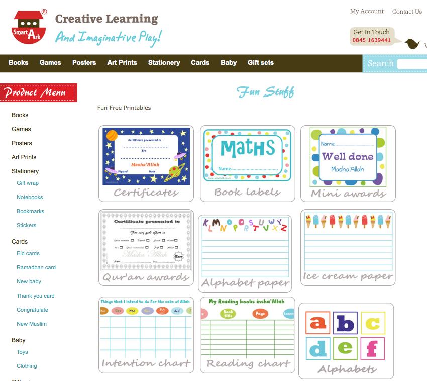 Smart Ark : supports pédagogiques gratuit pour écoliers musulmans