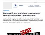 stop islamophobie France 3