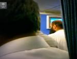 Prière dans un avion