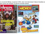 Le Journal de Mickey se vend toujours plus que Valeurs actuelles