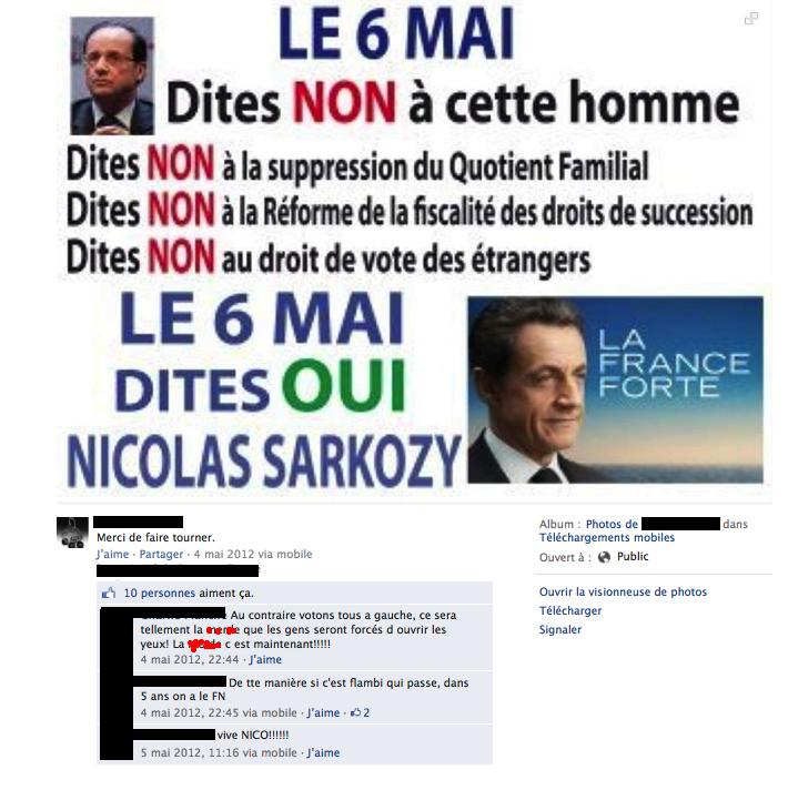 Trappes : le policier appelle à voter Hollande