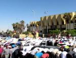 armee egyptienne tirs pendant la prière
