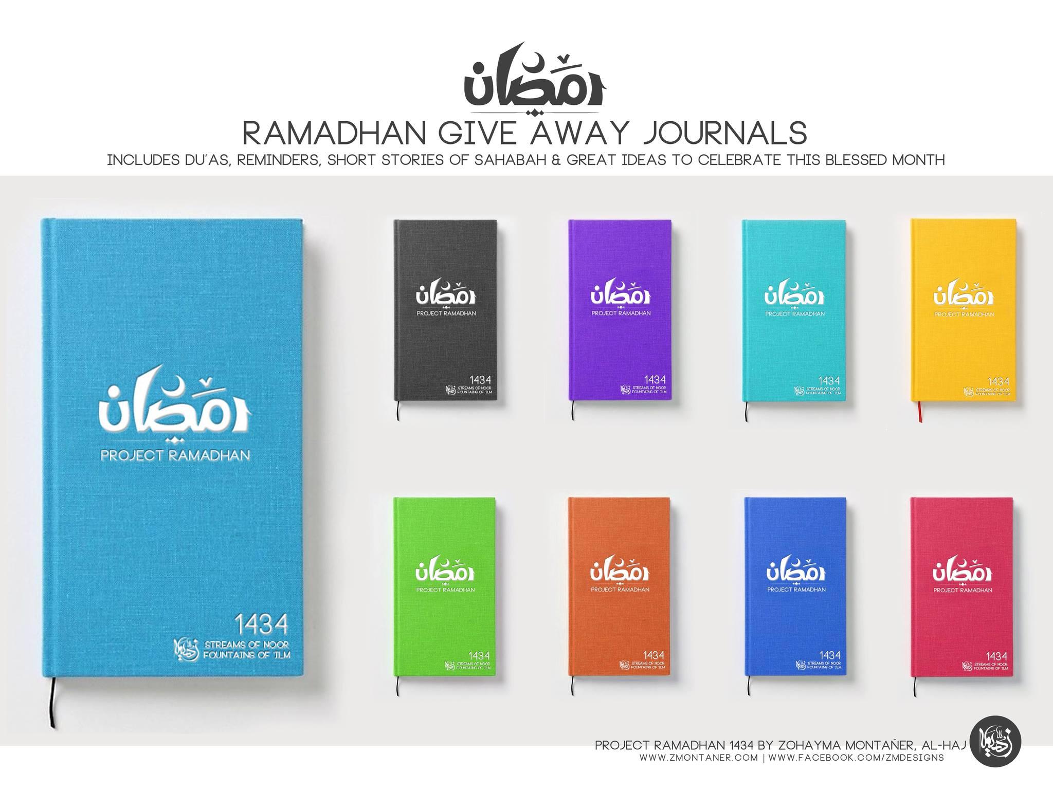 carnet de ramadan Zohayma Montañer Designs