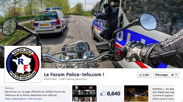 facebook police info