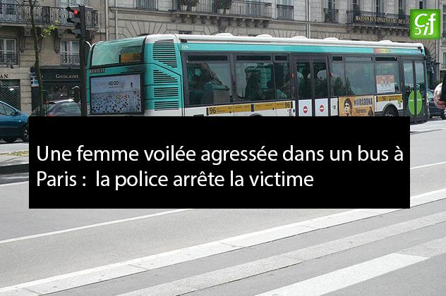 Agression islamophobe à Paris : la police embarque la victime, l'agresseur protégé ?