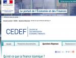 finance islamique ministere economie et des finances