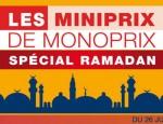 monoprix ramadan Tunisie